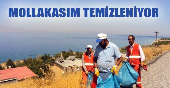 Mollakasım Köyü'nde temizlik kampanyası