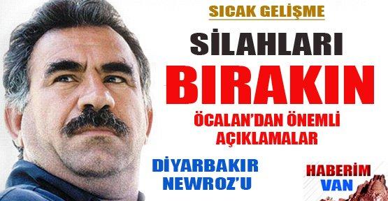 Öcalan'dan Önemli Açıklamalar - Diyarbakır Newroz'u