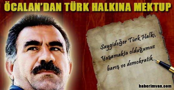 Öcalan'dan Türk Halkına Mektup