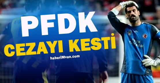 PFDK'dan Volkan'a Maçlardan Men Cezası