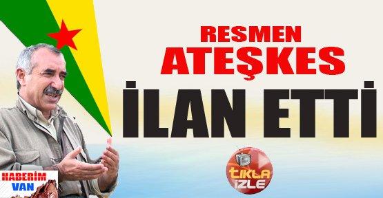 PKK Resmen Ateşkes İlan Etti