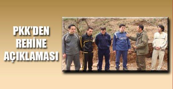 PKK'den Rehine Açıklaması
