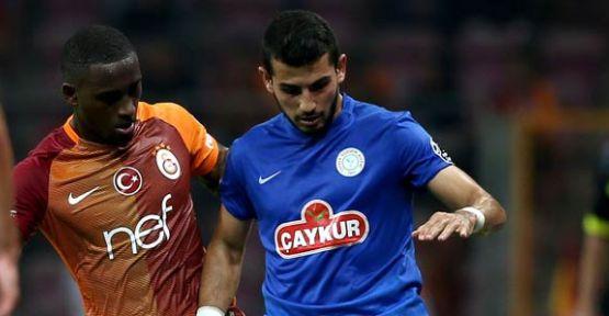 Rizespor Galatasaray'a Bileniyor