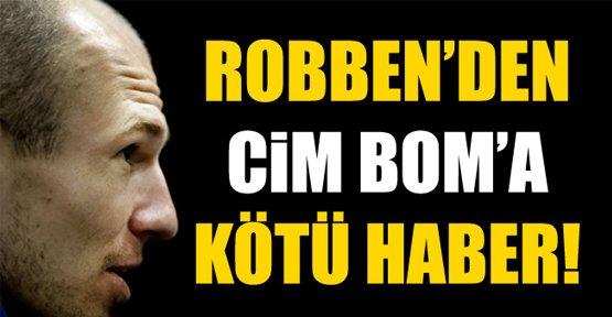 Robben'den kötü haber