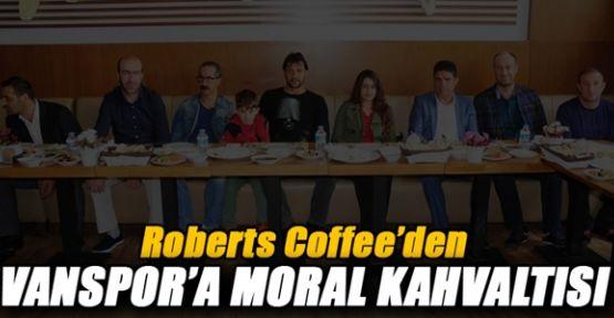 Roberts Coffee'den Belediyespor Eşbaşkanı Ve Sporculara Moral Kahvaltısı