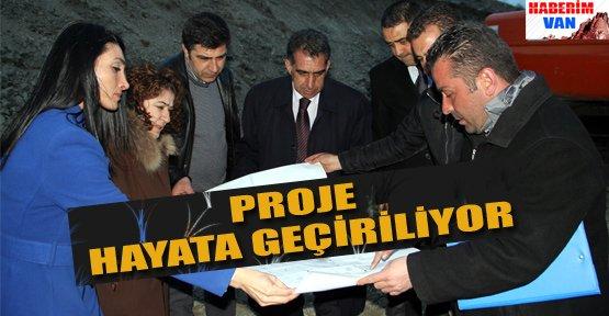 Tekstilkent Projesine Start Verildi - Van Haberleri