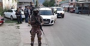 Bursa Polisinden Geniş Çaplı Narkotik ve Huzur Uygulaması