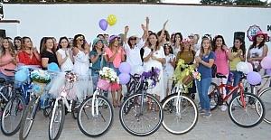 Süslü Kadınlar Kırıkkale'de Bisikletle Tur Attı