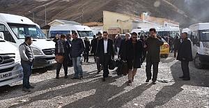 DAKA Davetlisi Olarak İranlı Tekstil Yatırımcıları Van'a Geldi