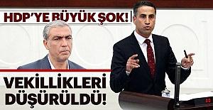 Mecliste Teröre Geçit Yok! 2 İsmin Vekilliği Düşürüldü!