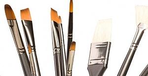 Fırça Seti Boya Yapanlar İçin Özel Malzemeler Arasında Yer Alıyor