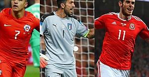2018 Dünya Kupasında Forma Giyen Ünlü Futbolcular