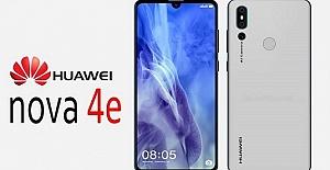 Huawei Nova 4e'in ilk görüntüsü ortaya çıktı