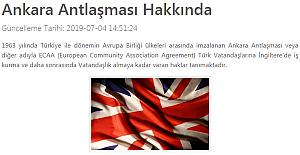 İngiltere Ankara Anlaşması İş Kurma Vizesi Nedir?