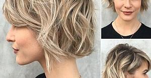 Kısa Saçlar İçin Model Tercihleri