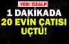 Özalp'ta 1 Dakikalık Hortum 20 Evin Çatısını Uçurdu