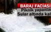 Siirt'te Piknik Yapan Vatandaşlar Baraj Suları Altında Kaldı
