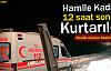 Van'da Hamile Kadın 12 Saat Sonra Kurtarıldı