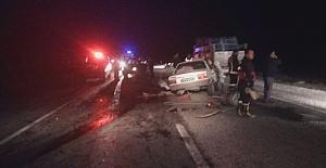 Çorum'da İki Araç Birbirine Girdi: 3 Ölü, 1 Ağır Yaralı
