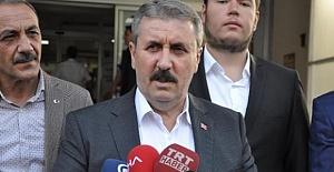 """BBP Lideri Desticiden Af Açıklaması! """"Genel Aftan Yana Değiliz"""""""