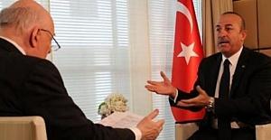 Çavuşoğlu'ndan İngiliz Gazeteciye Tokat Gibi Sözler!