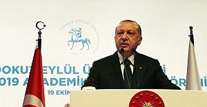 Başkan Erdoğan'dan Eğitim Açıklaması: Demek ki Bir Şeyleri Kaybettik!
