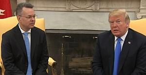 Brunson'u Ağırlayan Trump'tan Açıklama: Erdoğan'la İlişkimiz Çok İyi