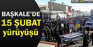 Başkale'de 15 Şubat Yürüyüşü