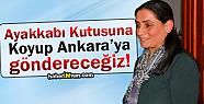 Bidav: Ayakkabı Kutusuna Koyup Ankara'ya Göndereceğiz