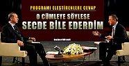 Fatih Altaylı'dan Erdoğan Açıklaması