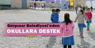 Gürpınar'da Okul Belediye Dayanışması