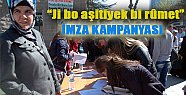 HDK'dan Onurlu Bir Barış İçin İmza Kampanyası