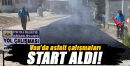 İpekyolu Belediyesi Asfalt Çalışmalarına Başladı!
