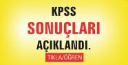 ÖSYM 2014 KPSS Sonuçlarını Açıkladı