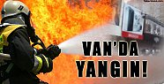 Reklam Afişi Yangına Sebep Oldu - Van Haberleri