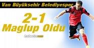 Van Büyükşehir Belediyespor 2-1 Mağlup...