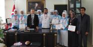 Van'da Aşçı Kursiyerlere Sertifika 3'üne De Destek