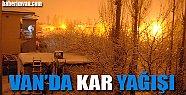 Van'da Kar Yağışı - Van Haberleri