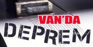 Van'da Korkutucu Deprem! Halk Sokağa Fırladı!