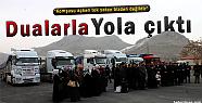 Van'dan Suriye'ye Dualarla 6 Tır Un