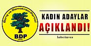 Van'ın BDP Kadın Belediye Başkan Adayları Açıklandı