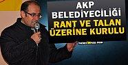 Veysel Keser: AKP Belediyeciliği İflas Etti