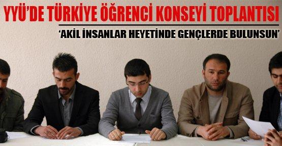 Türkiye Öğrenci Konseyi'nden Sürece Destek