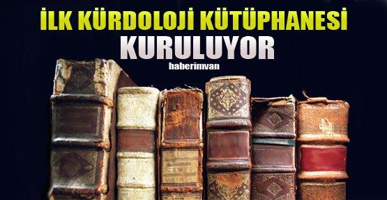 Türkiye'nin İlk Kürdoloji Kütüphanesi