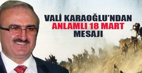 """Vali Karaloğlu'dan """"Çanakkale"""" Mesajı - Van Haberleri"""