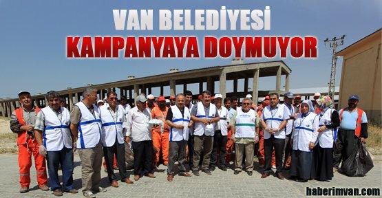 Van Belediyesi Kampanyalara Doymuyor