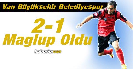 Van Büyükşehir Belediyespor 2-1 Mağlup Oldu