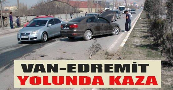 Van - Edremit Yolunda Kaza - Van Haberleri