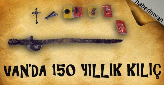 Van Kalesi'nde 150 Yıllık Kılıç