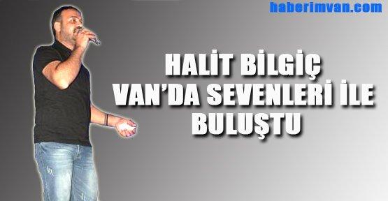 Van'da Halit Bilgiç Konseri - Van Haberleri